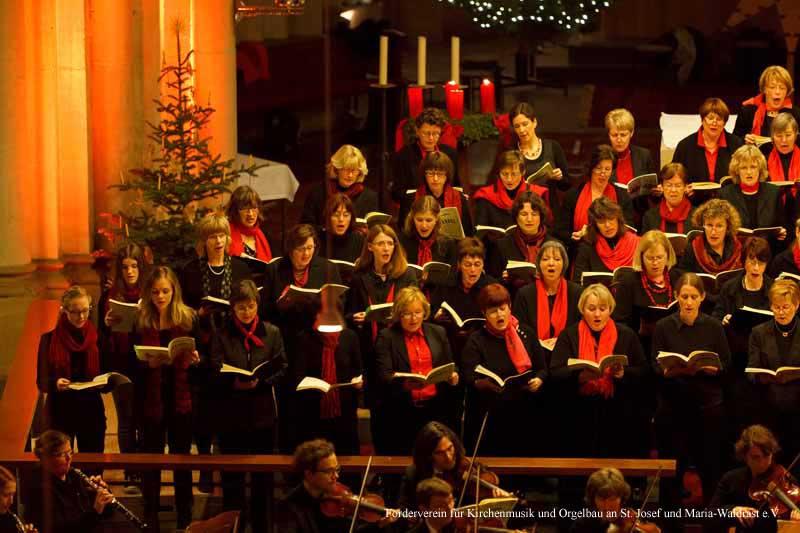 18. Dezember 2011: Kirche St. Josef, Krefeld-Stadtmitte, The Messiah, Crescendo Chor Krefeld