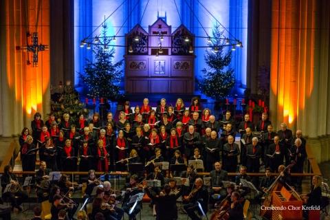 20. Dezember 2015: Kirche St. Josef, Weihnachtskonzert, Crescendo Chor Krefeld