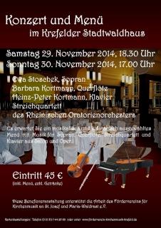 02_20141129_Plakat_Stadtwaldhaus_Konzert_und_Menue