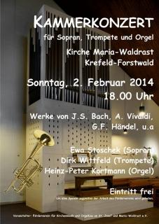 05_20140202_Plakat_Kammerkonzert_Sopran_Trompete_Orgel