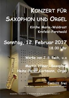Saxophon trifft Orgel