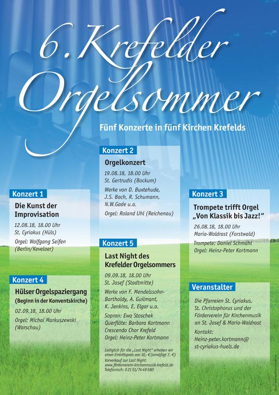 6. Krefelder Orgelsommer