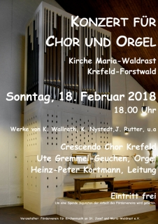 Konzert für Chor und Orgel
