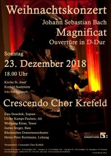 Johann Sebastian Bach: Magnificat / 23. Dezember 2018