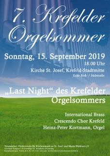7. Krefelder Orgelsommer: Last Night
