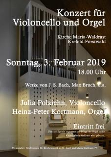 Violoncello trifft Orgel