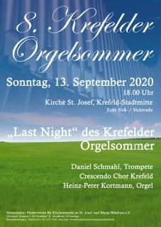 Last Night 8. Krefelder Orgelsommer