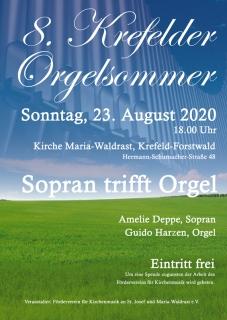 Sopran trifft Orgel