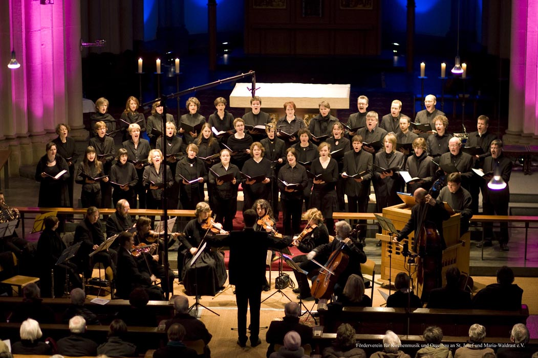 Johann Christoph Friedrich Bach: Der Tod Jesu im März 2008 - St. Josef, Krefeld