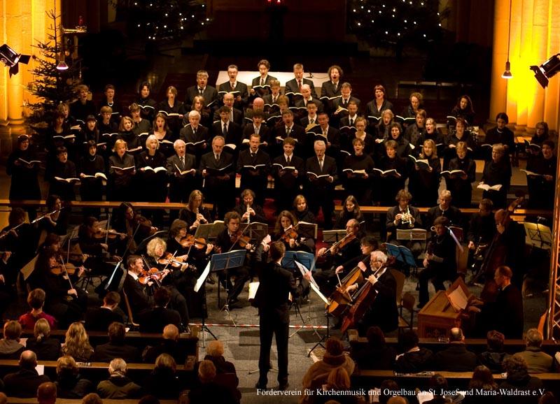 Johann Sebastian Bach: Weihnachtsoratorium (Kantaten 1-3) im Dezember 2008 - St. Josef, Krefeld