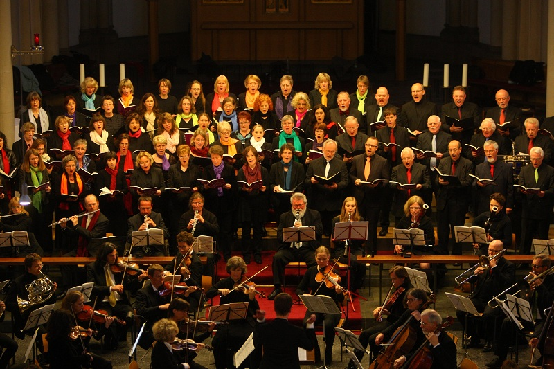 Felix Mendelssohn-Bartholdy: Lobgesang im Mai 2012 - St. Josef, Krefeld