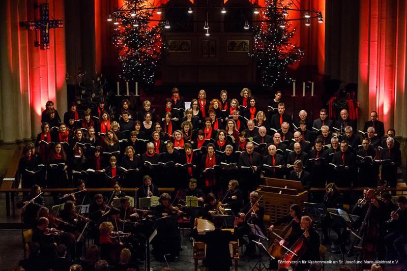 Johann Sebastian Bach: Weihnachtsoratorium (Kantaten 1,4-6) im Dezember 2012