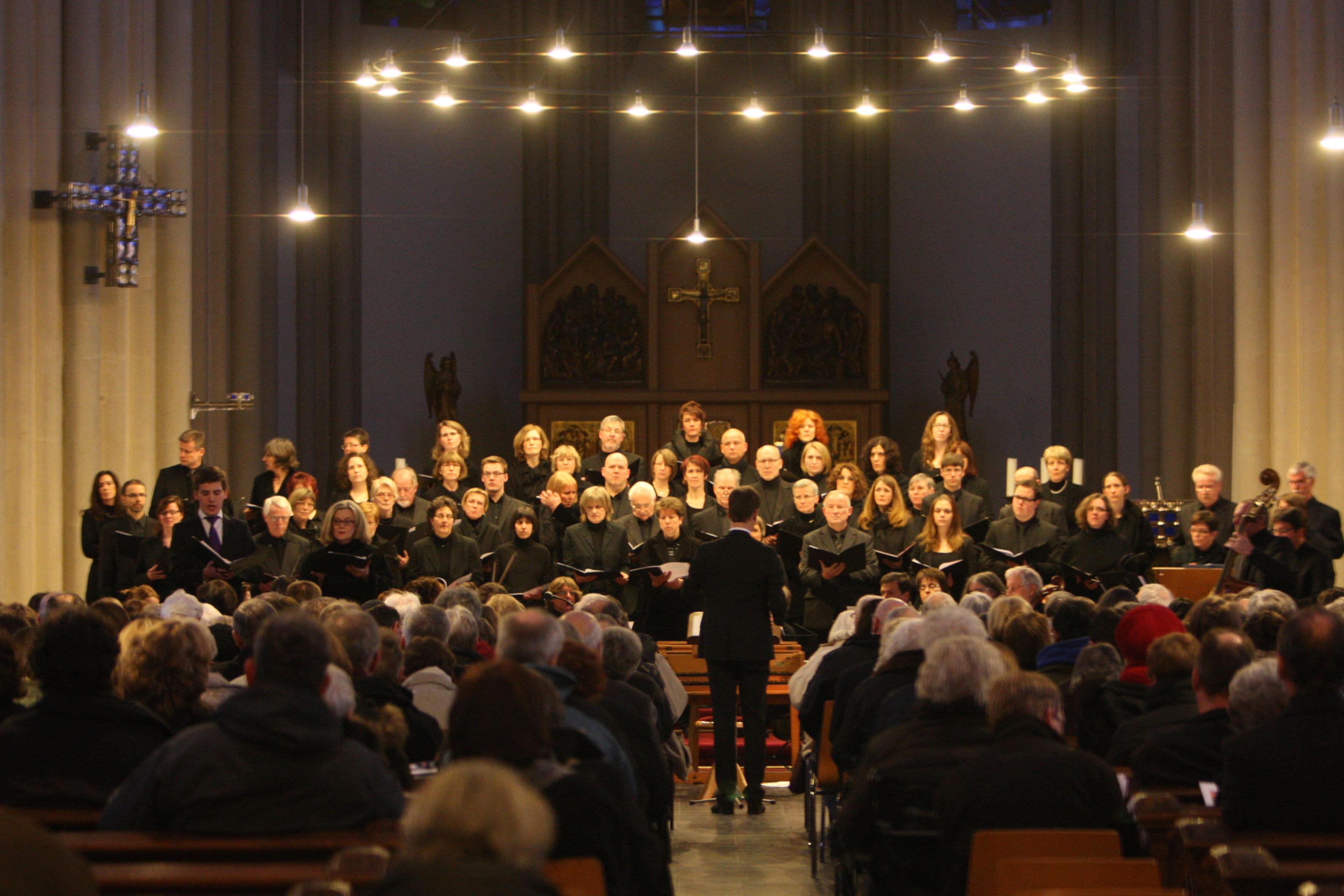 Johann Christoph Friedrich Bach: Der Tod Jesu im März 2013 - St. Josef, Krefeld