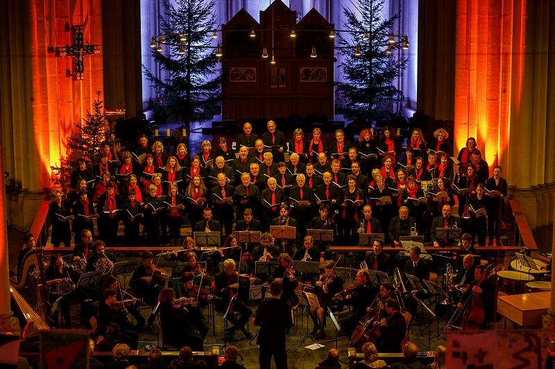 John Rutter: Magnificat & Carols im Dezember 2014 - St. Josef, Krefeld