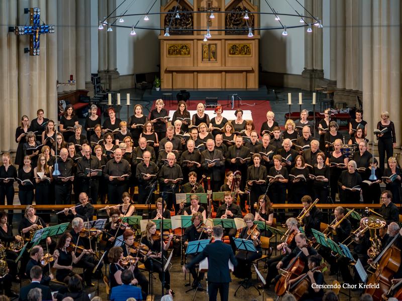 Crescendo Chor Krefeld - Mass for Peace - Karl Jenkins