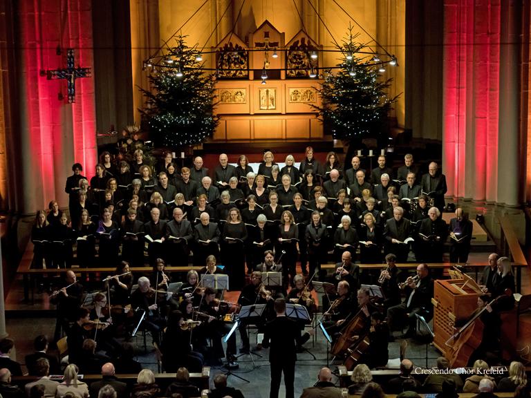 Crescendo Chor Krefeld - Magnificat - Johann Sebastian Bach